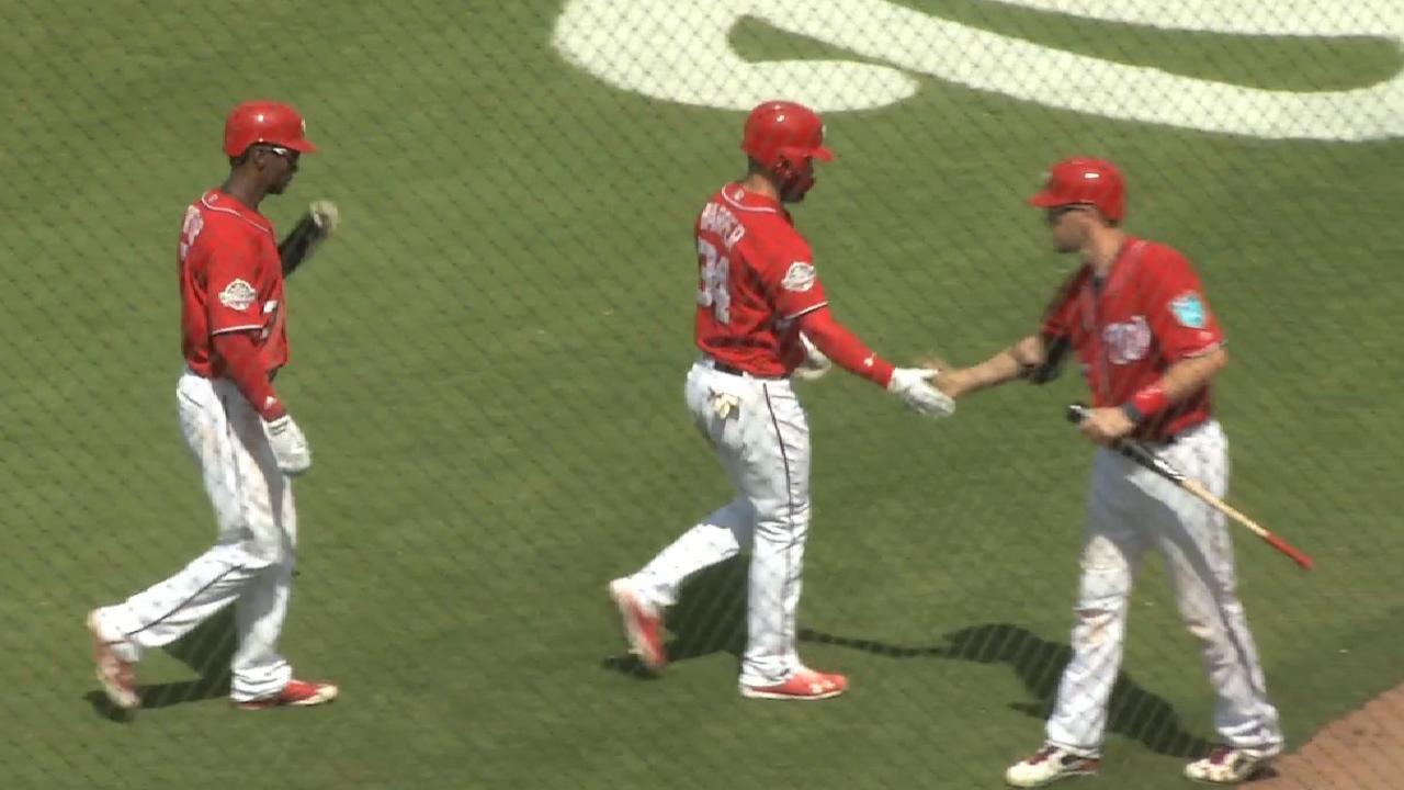 Harper's two-run home run