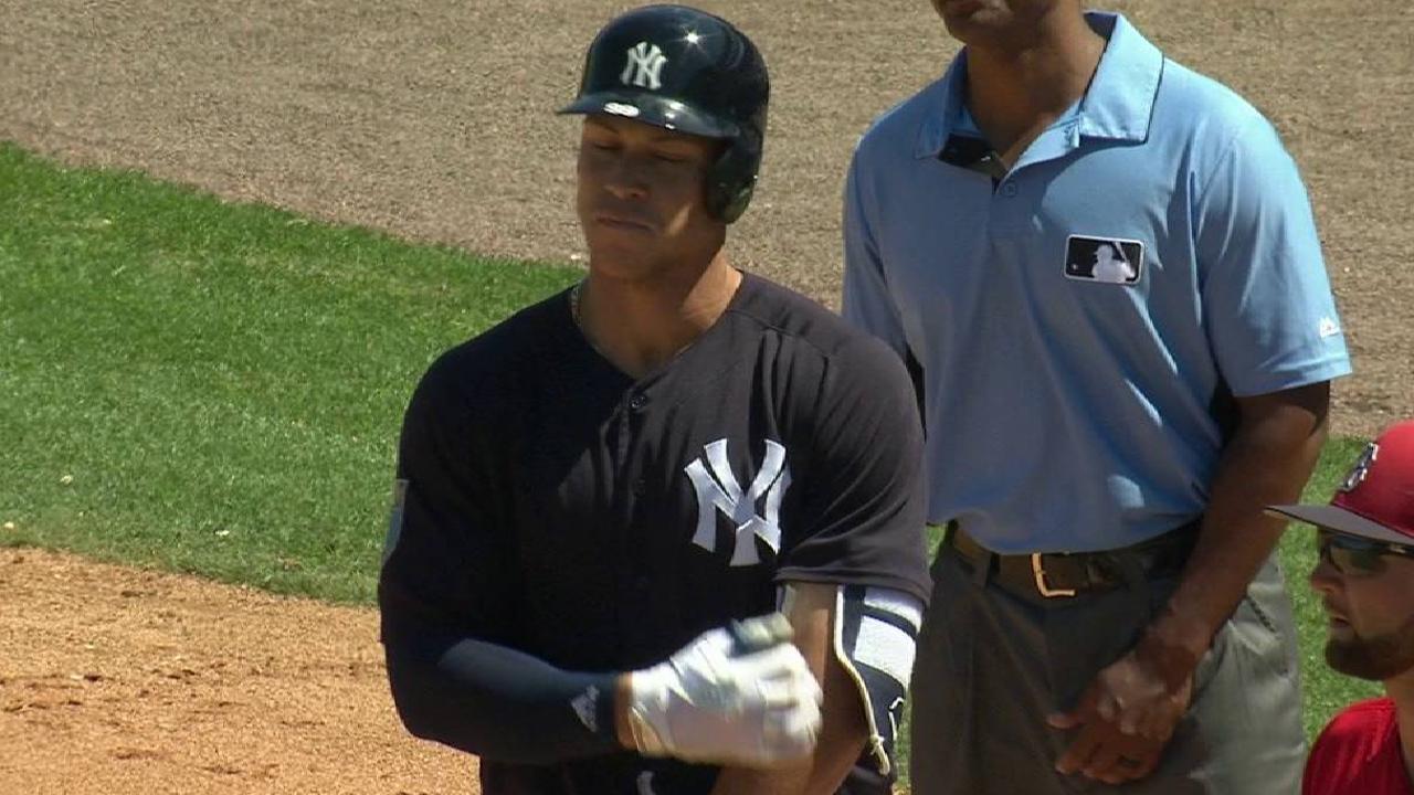 Yankees put Aaron Judge in leadoff spot | MLB.com