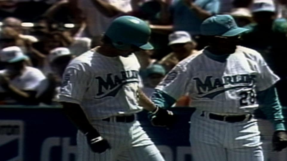 First hit in Marlins history