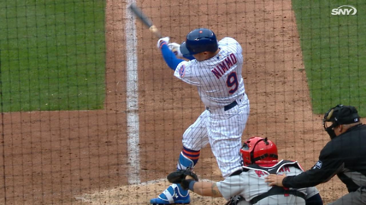 Brandon nimmo and the mets outfield equation mlb nimmos base hit kristyandbryce Gallery