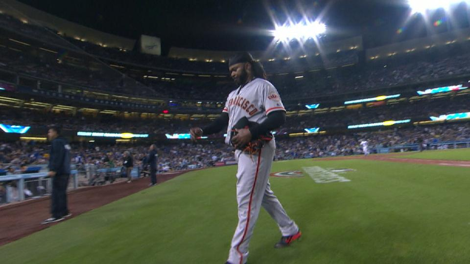 Cueto's one-hit outing