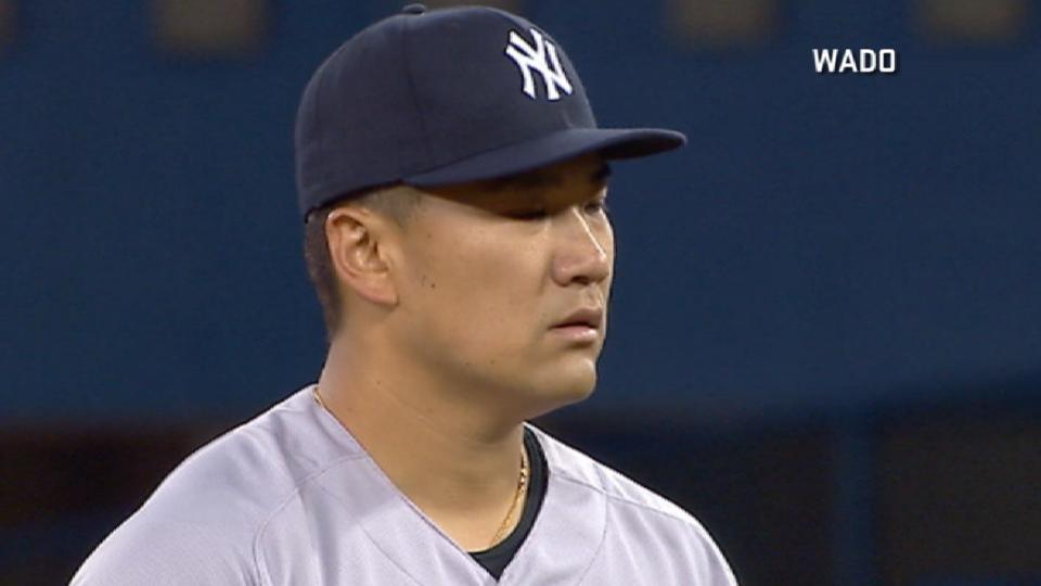 Masahiro Tanaka poncha a 8