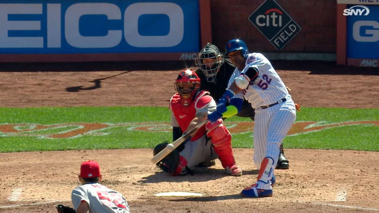 Cespedes' solo home run