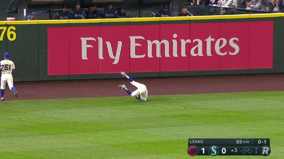 Gordon's speedy, sliding catch