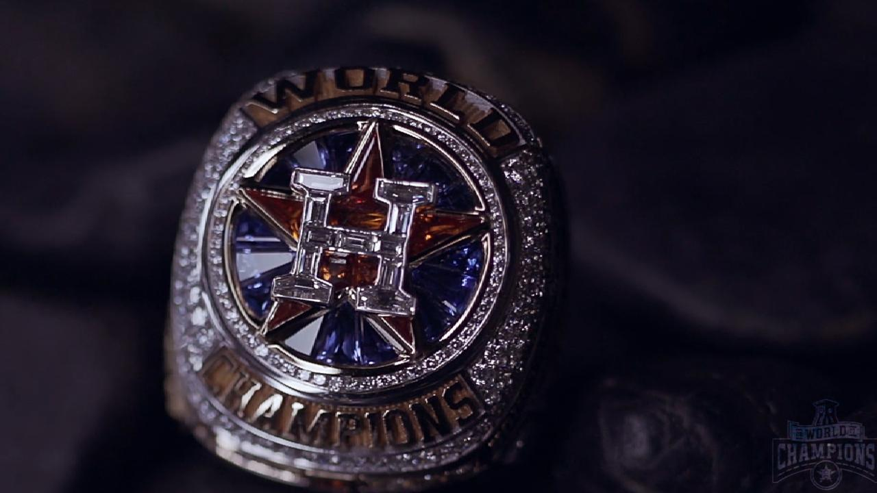 06323c6a1 Astros World Series Ring Ceremony - Tuesday