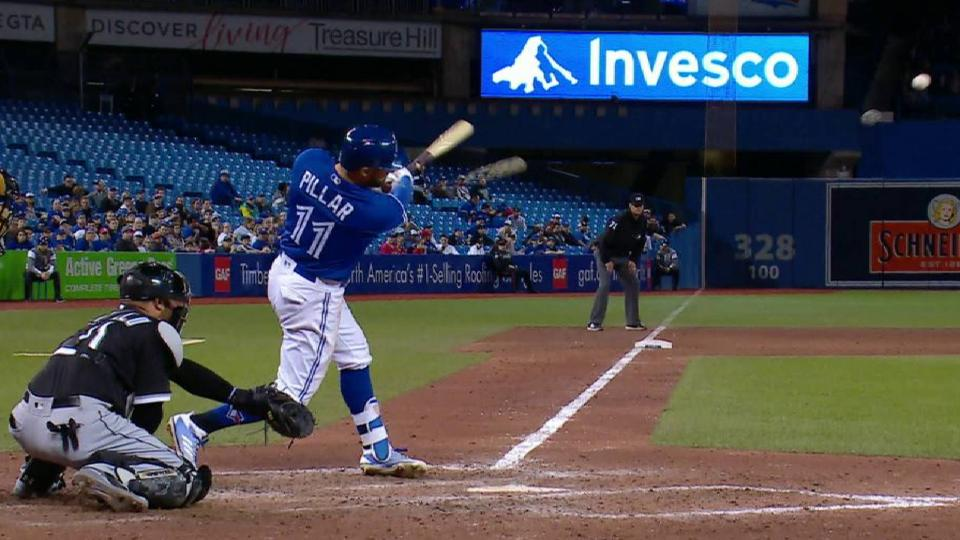 Pillar's RBI double