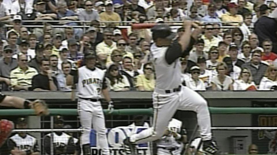 First Pirates hit at PNC Park