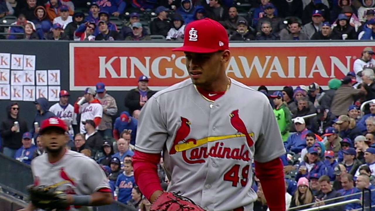 cardinals rookie jordan hicks appears to have taken the title of