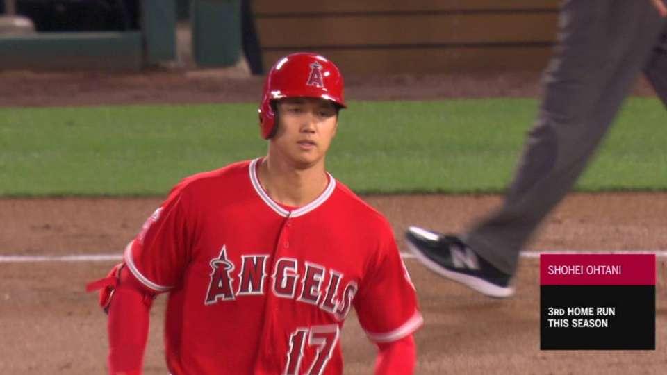 Ohtani's third home run