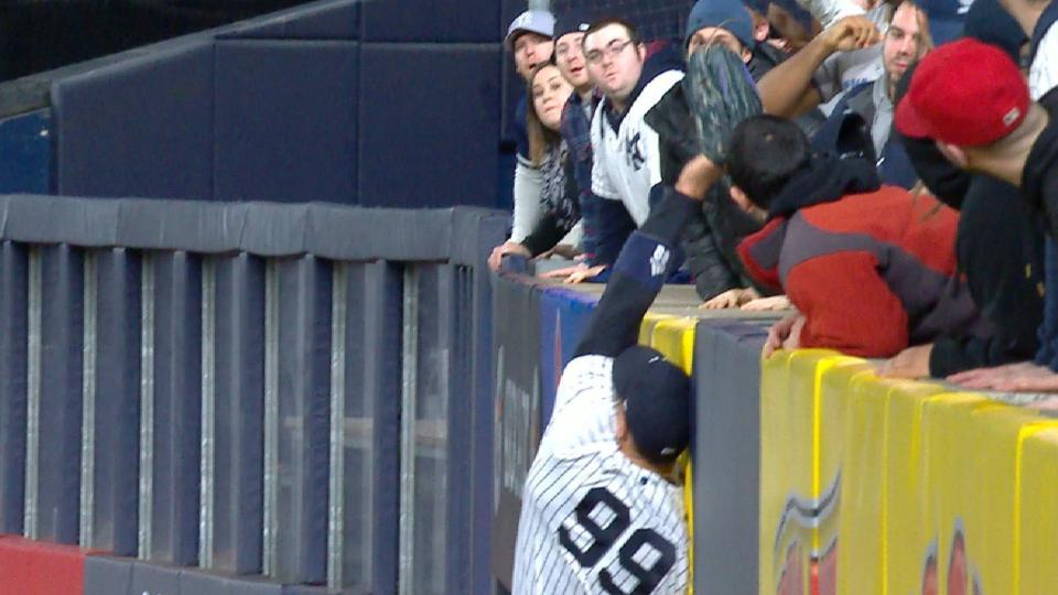 Judge salva a Yankees
