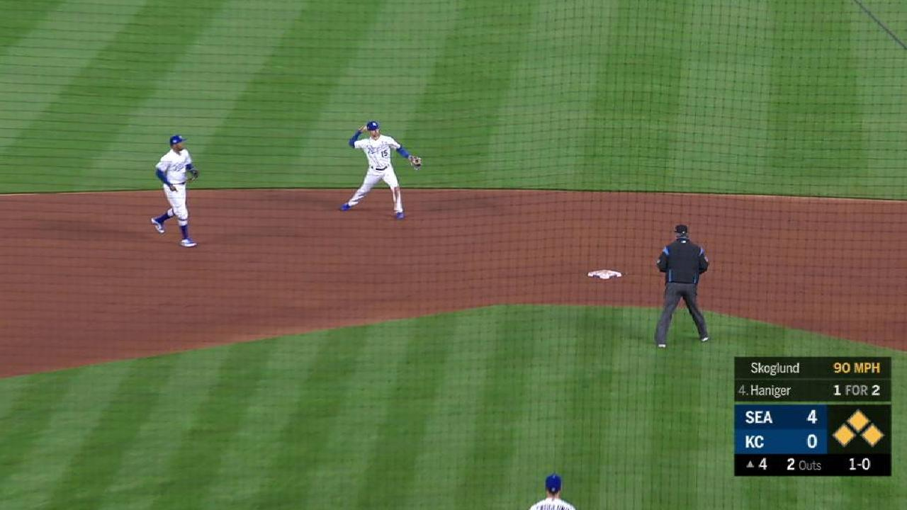 Skoglund Works Out Of A Jam