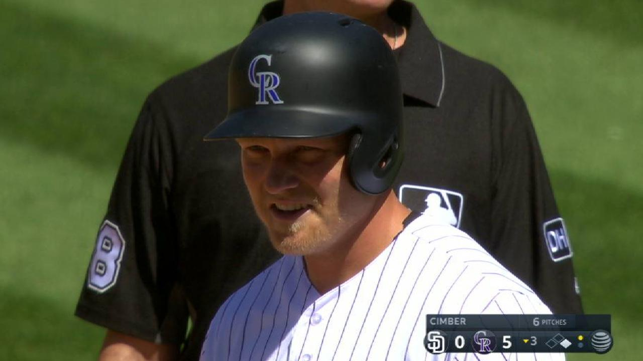 4492f5c62ed Rockies ride 5-run 3rd after fracas with Padres