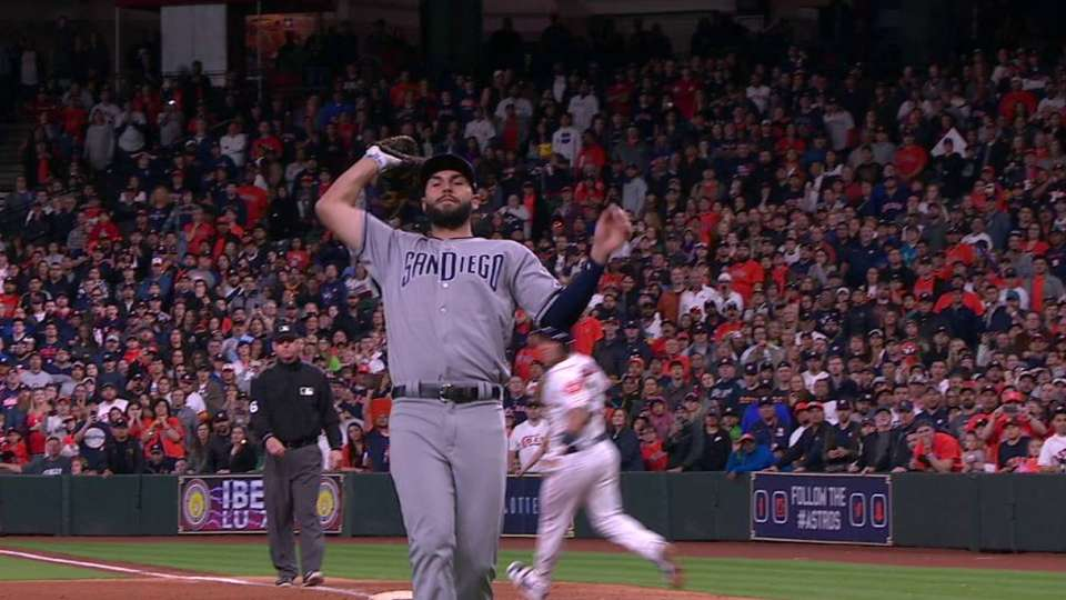 Astros win on Bregman's popup