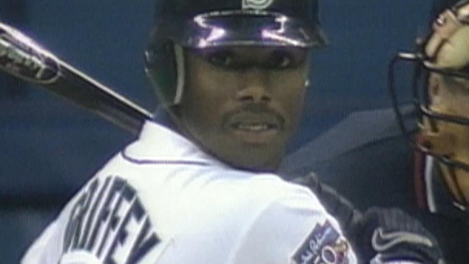 Junior opens '97 with two homers