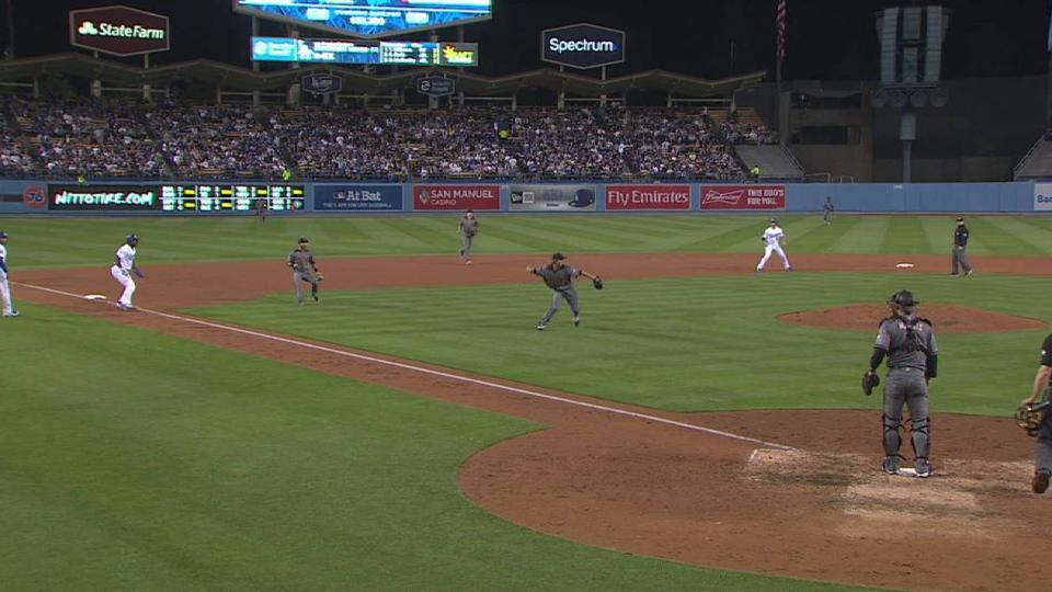Greinke's nice play in the 7th