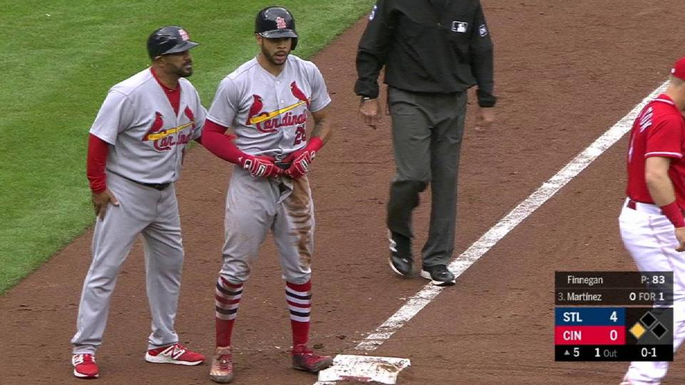 Pham steals third in the 5th