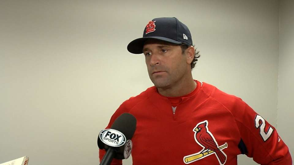 Matheny on 6-1 win over the Reds