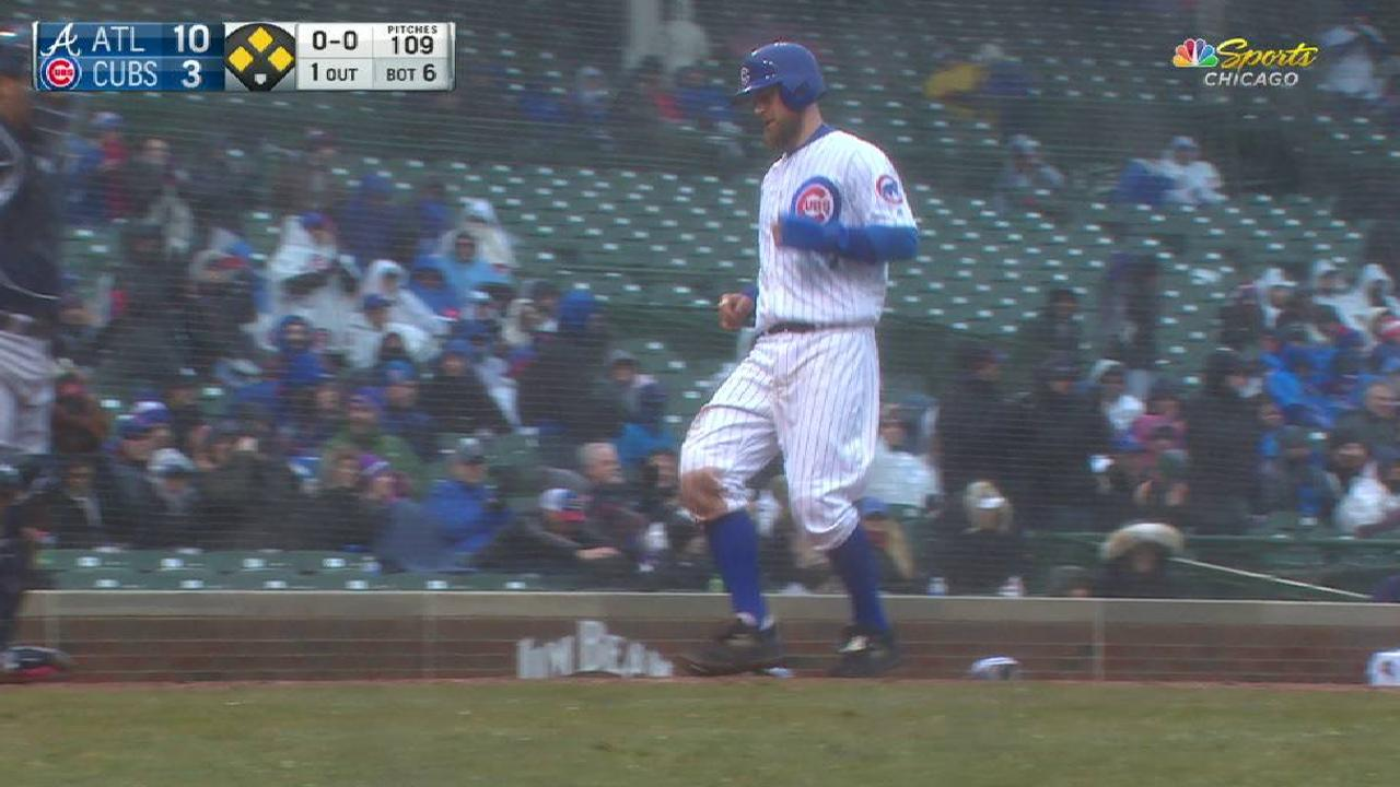 Schwarber's bases-loaded walk