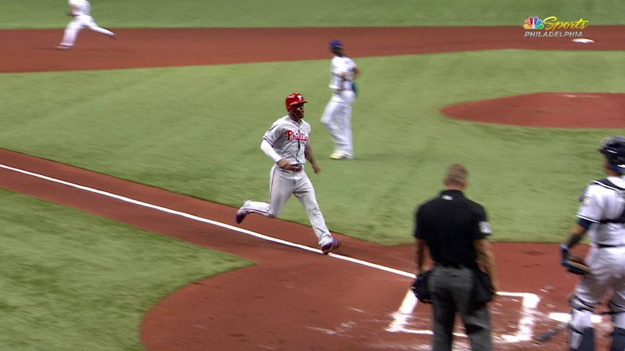 Kingery's RBI double
