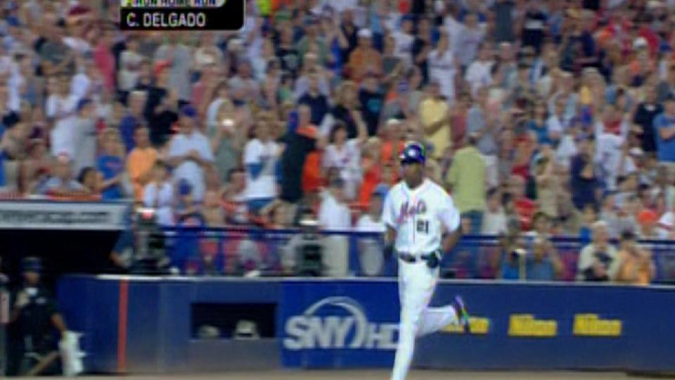 Delgado's second homer
