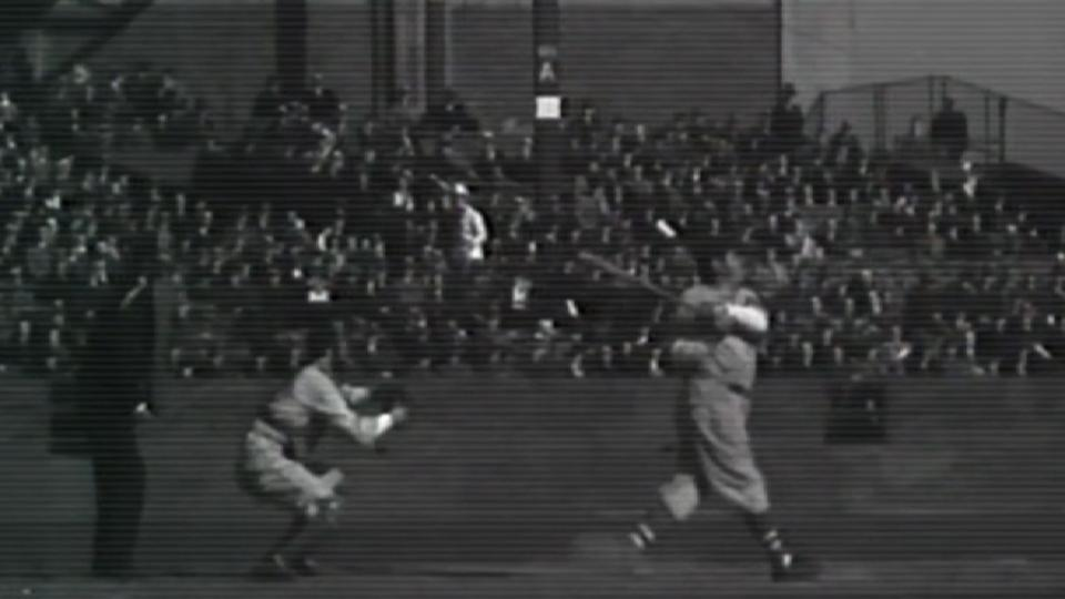 Ruth homers in exhibition game
