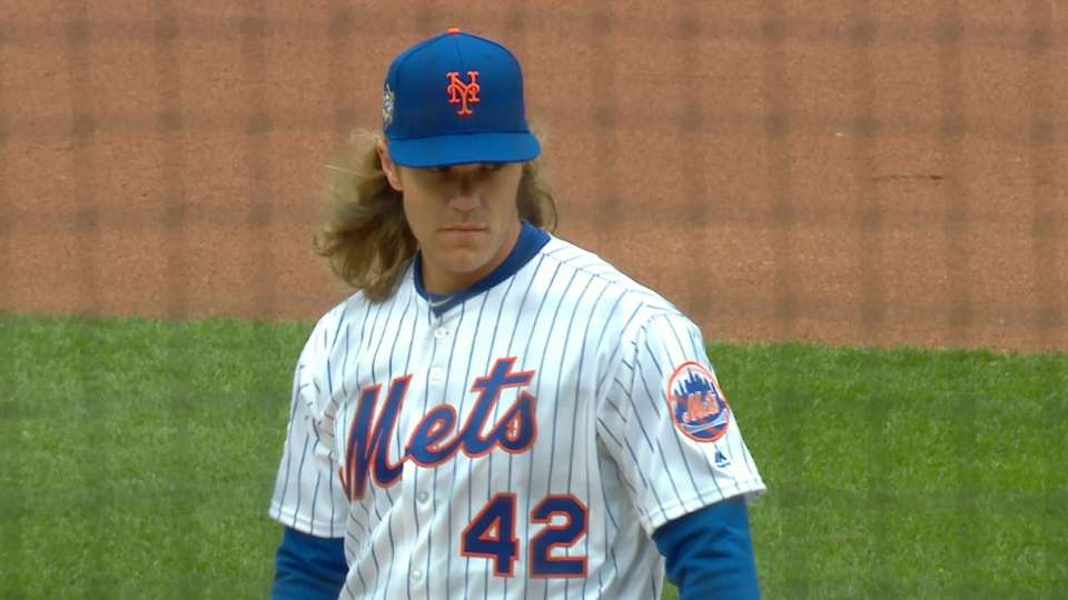 Thor strikes out eight in a row