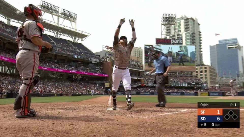 Villanueva's solo smash