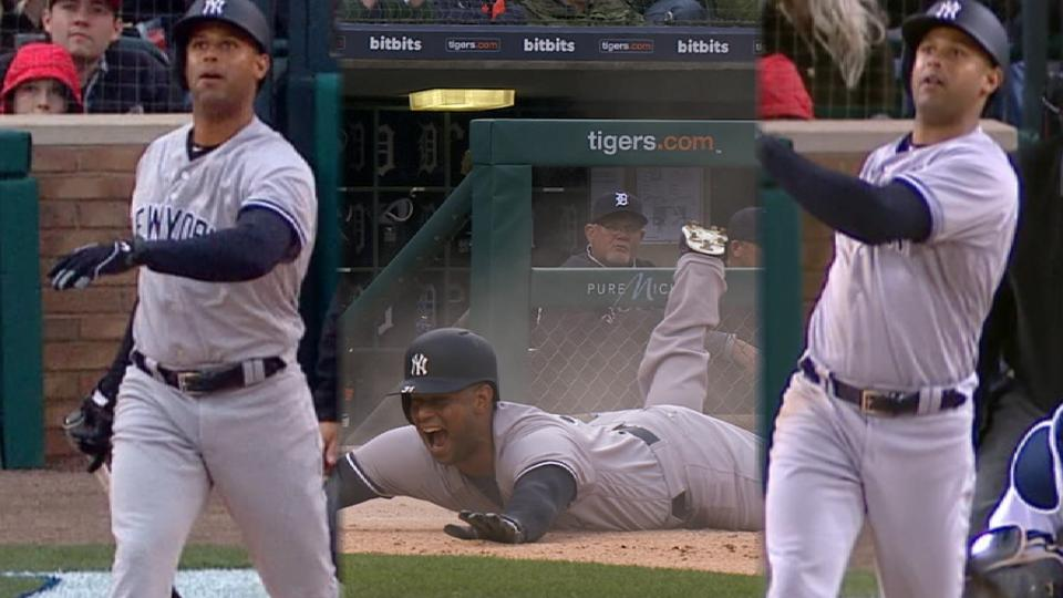 Must C: Hicks hits pair of HRs