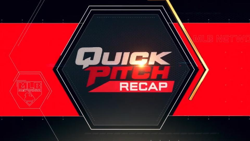 Quick Pitch Recap: 4/13/18