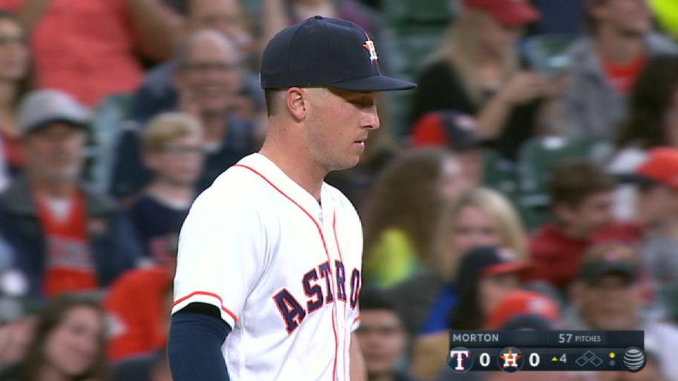 Bregman's strong throw to first