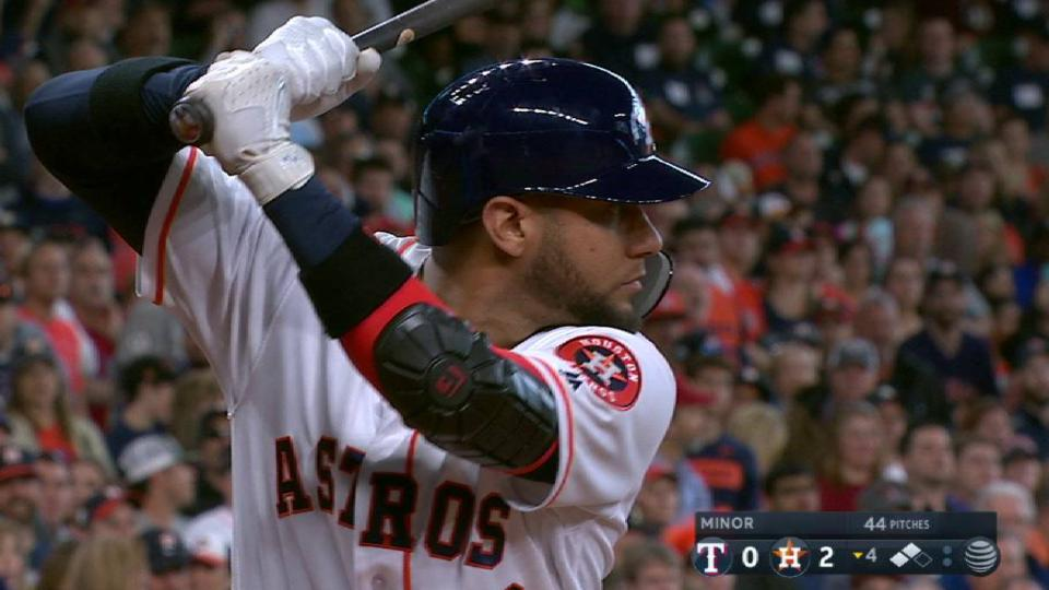 Gurriel's three-run homer