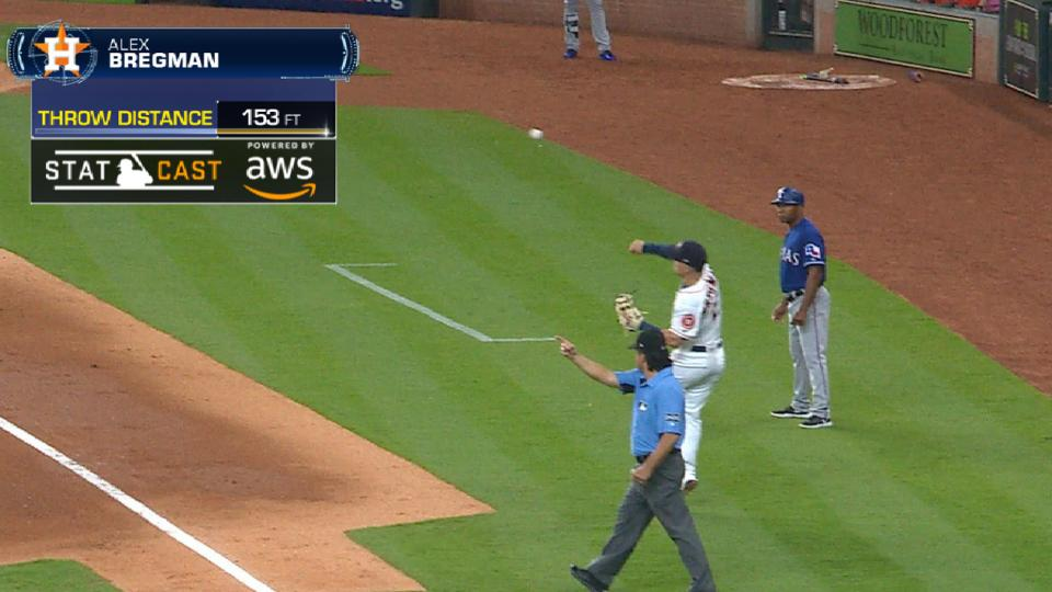 Statcast: Bregman's great throw