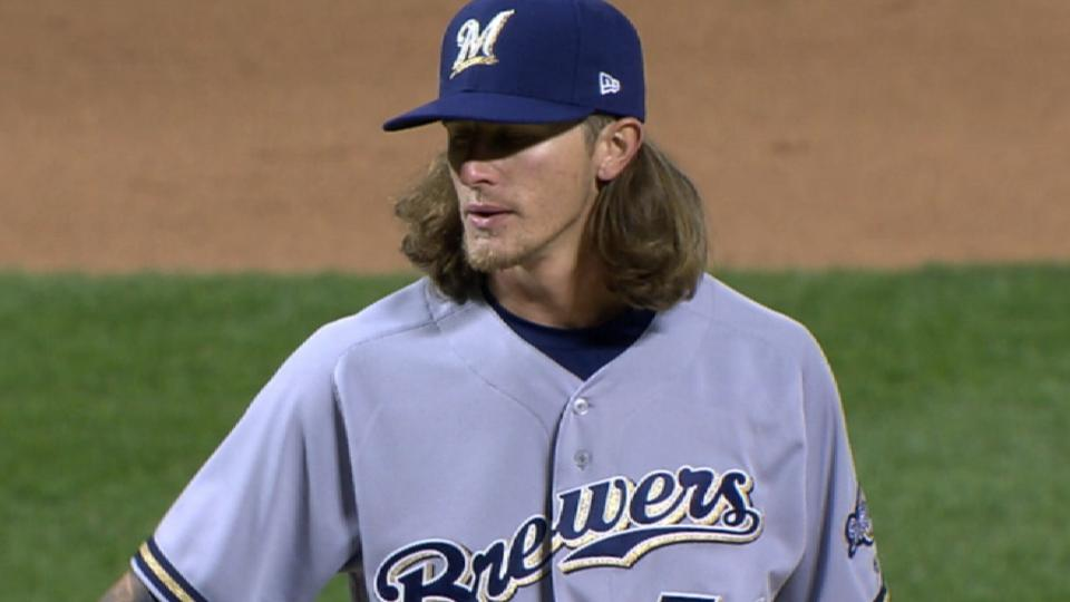 Hader K's five in six-out save