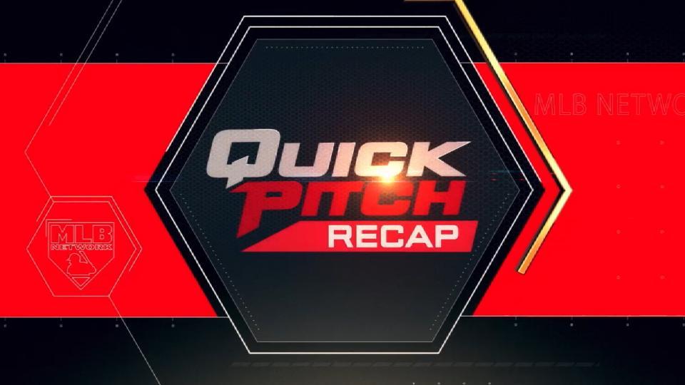 Quick Pitch Recap: 4/14/18