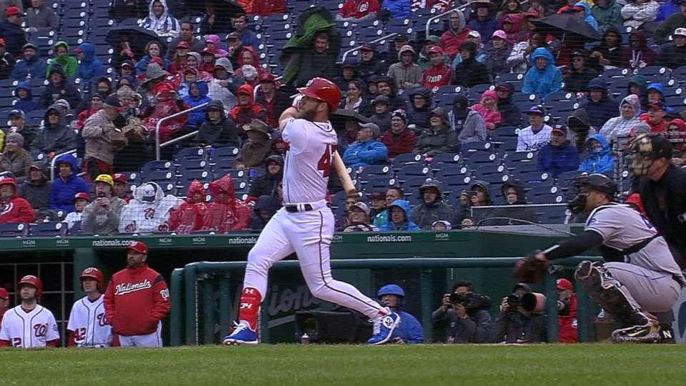 Harper's seventh home run