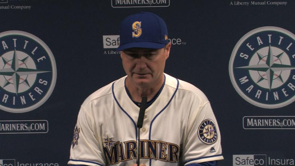 Servais on 2-1 loss to Athletics