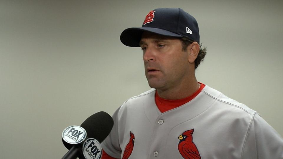 Matheny on win against the Reds