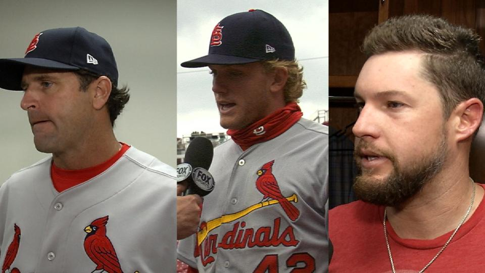 Cardinals on win vs. Reds