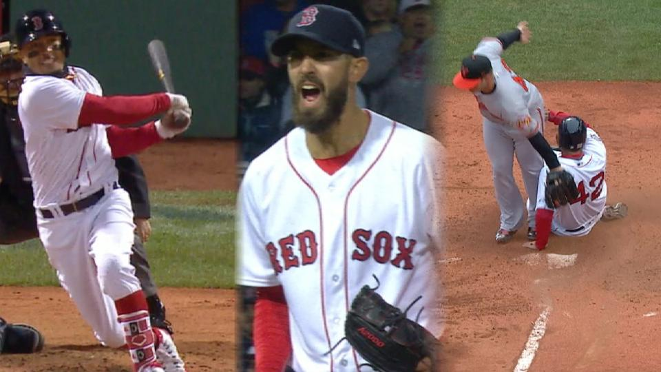 Red Sox Plays of the Week