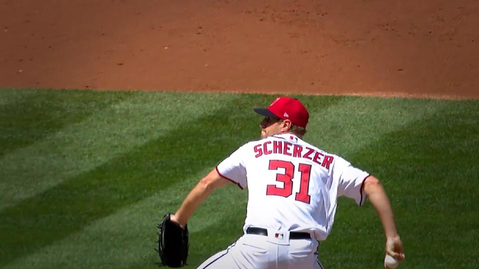NL Player of the Week: Scherzer