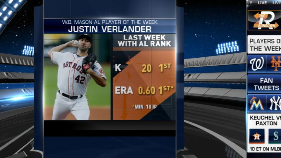 AL & NL Players of the Week