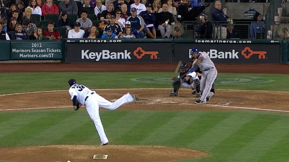 Beltre's two-run home run