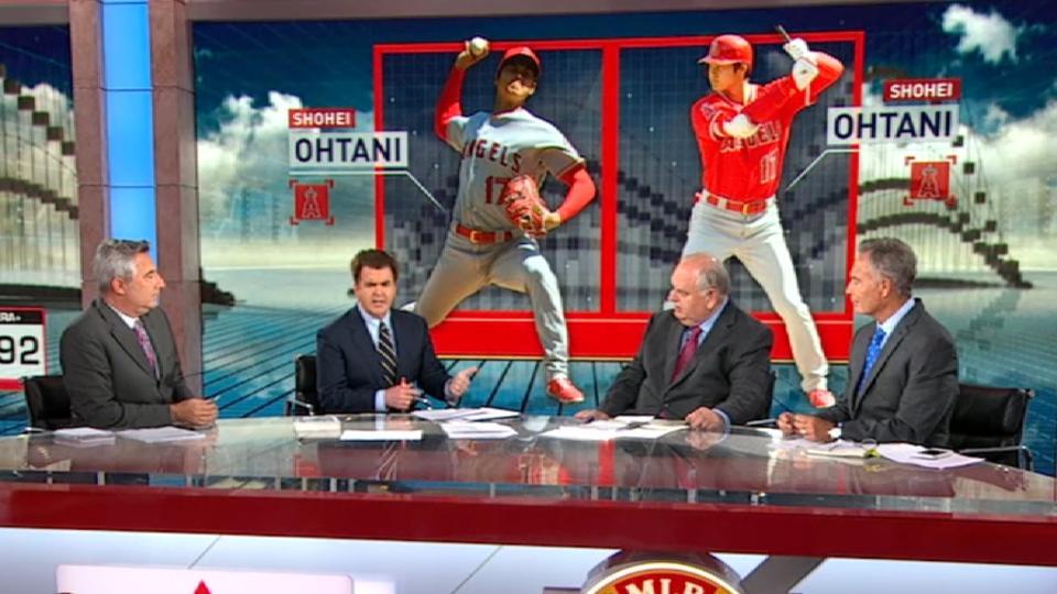 MLB Now on Ohtani's start