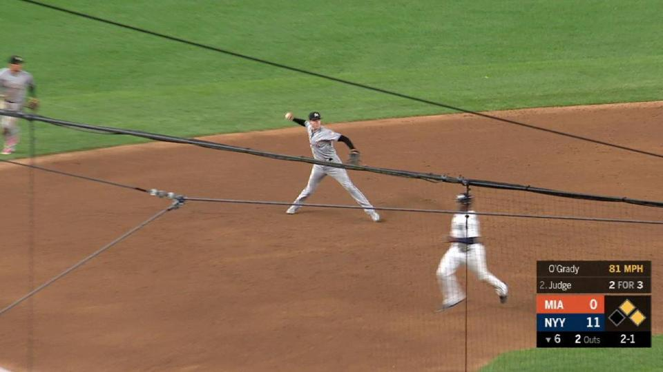 Anderson's great pick at third