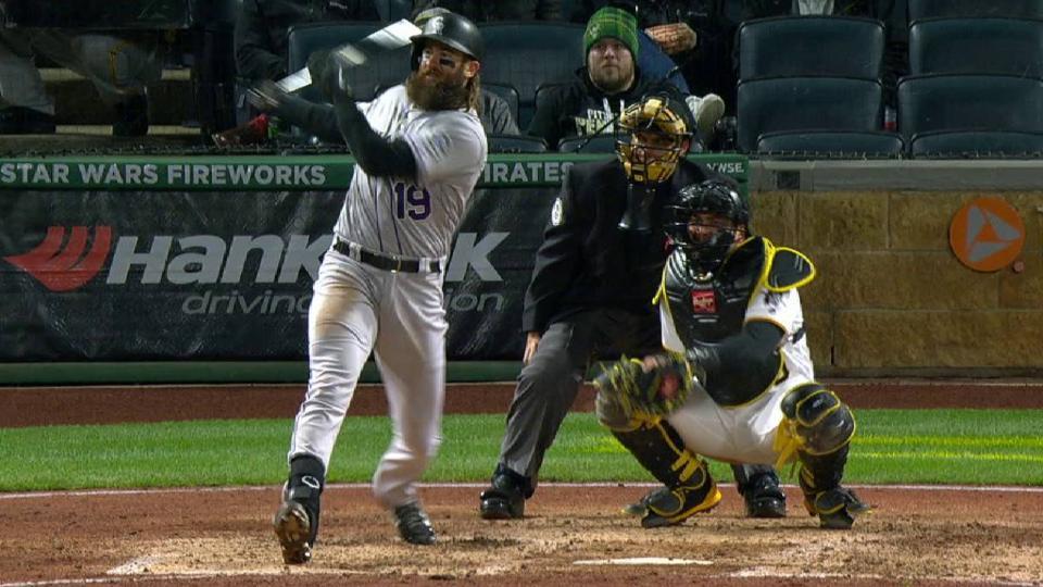 Blackmon's solo home run