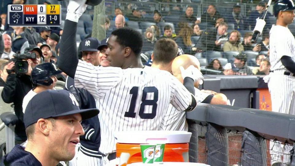 Gregorius' second home run