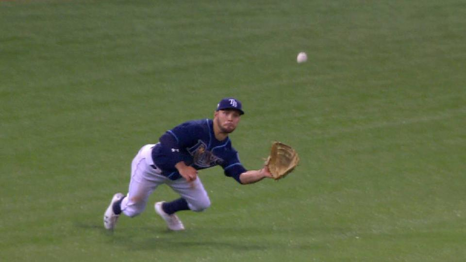 Field lays out for catch