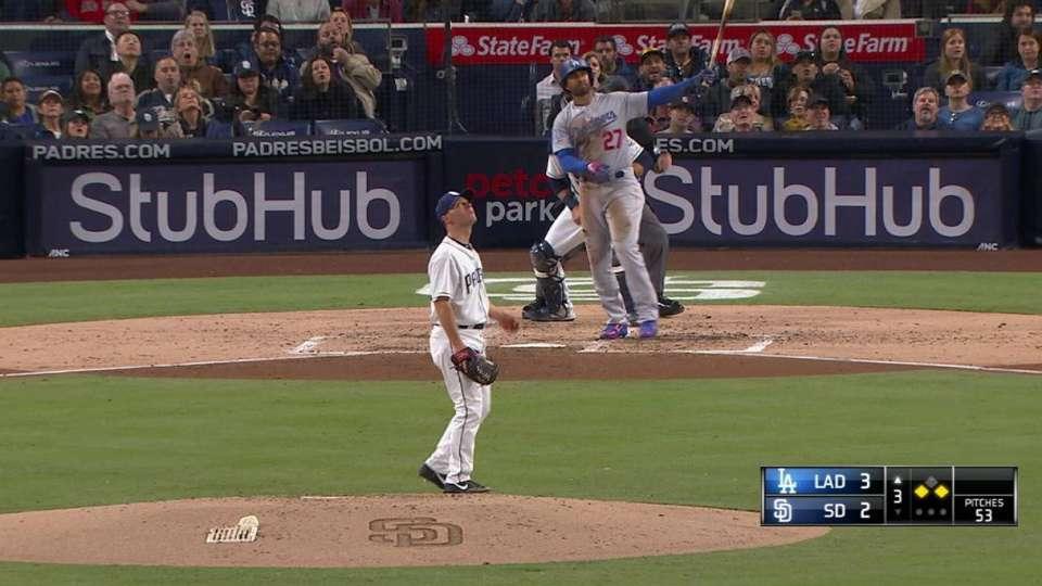 Kemp's three-run home run