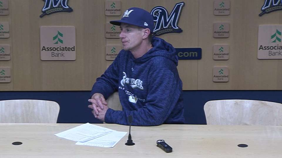 Counsell on Castillo, injuries