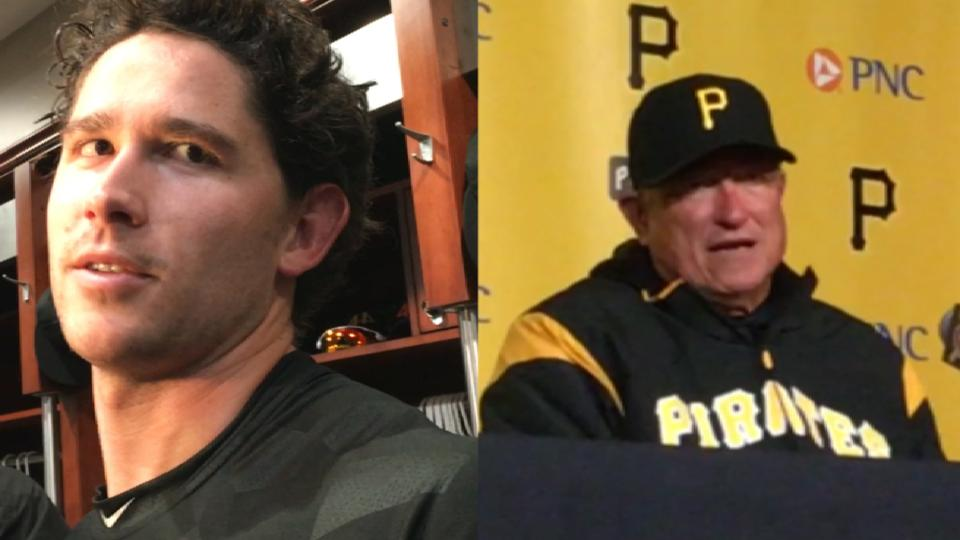 Pirates on loss to the Rockies